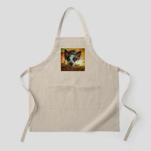 "AuCaDogs ""Pensive Cattle Dog"" Photo Art BBQ Apron"