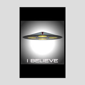 I Believe (UFO)  Mini Poster Print
