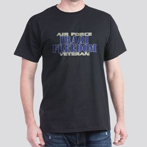 IRAQI FREEDOM AIR FORCE VETERAN Dark T-Shirt