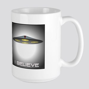 I Believe (UFO) Large Mug