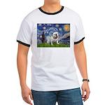 Starry Night English Bulldog Ringer T