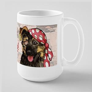 GSD Pirate Large Mug