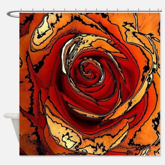 Rose20151019 Shower Curtain