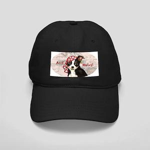 Chihuahua Pirate Black Cap