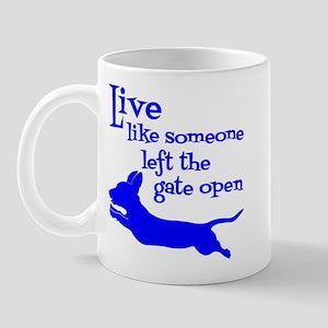 Open Gate! Mug Mugs