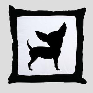 Funny Cute Chihuahua Throw Pillow