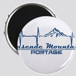 Cascade Mountain - Portage - Wisconsin Magnets