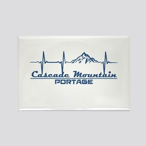 Cascade Mountain - Portage - Wisconsin Magnets