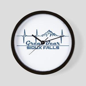 Great Bear - Sioux Falls - South Dako Wall Clock