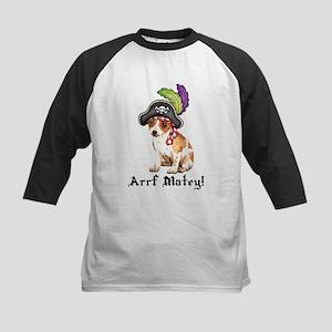 Chihuahua Pirate Kids Baseball Jersey