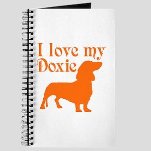 LOVE MY DOXIE Journal
