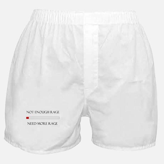 Not Enough Rage Boxer Shorts