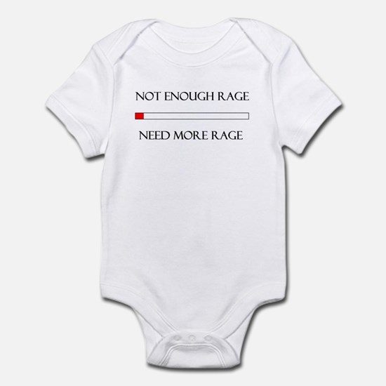 Not Enough Rage Infant Bodysuit
