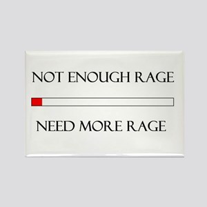 Not Enough Rage Rectangle Magnet