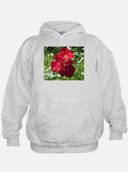 Single Petal Red Roses Sweatshirt