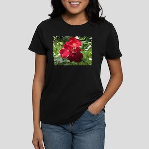 Single Petal Red Roses T-Shirt