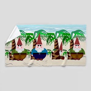 Gnome Beach Towel