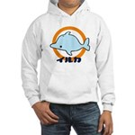 Hooded Sweatshirt - Iruka Blue
