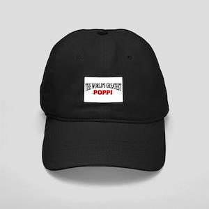 """""""The World's Greatest Poppi"""" Black Cap"""