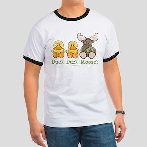 Funny Duck Duck Moose Ringer T