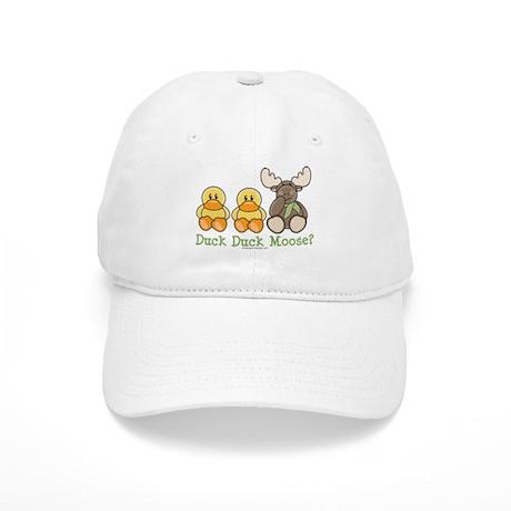 Funny Duck Duck Moose Cap