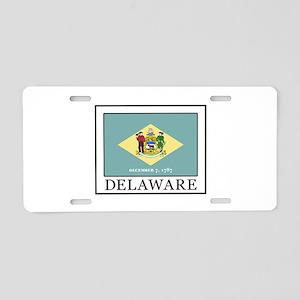 Delaware Aluminum License Plate