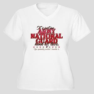 ARNG Kinda Love Women's Plus Size V-Neck T-Shirt