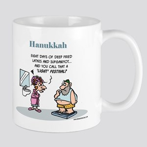 Hanukkah Festival Of Lights Mug Mugs