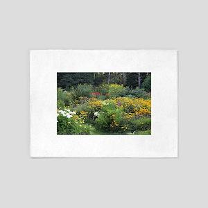 Secret Cottage Gardens 5'x7'Area Rug