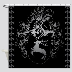 Coat of arms Shower Curtain