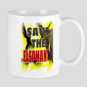 Save The Elephants Mugs
