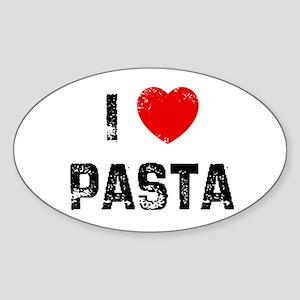 I * Pasta Oval Sticker