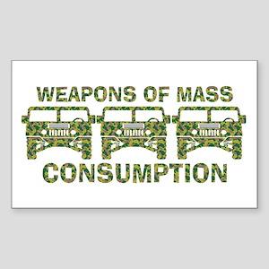 WMD...WMC's Rectangle Sticker