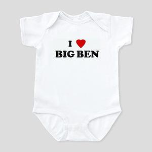 I Love BIG BEN Infant Bodysuit
