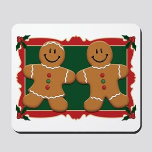 Gingerbread Couple Mousepad