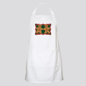 Gingerbread Couple BBQ Apron