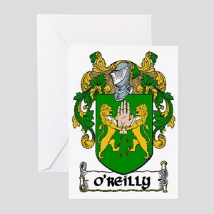 O'Reilly Coat of Arms Greeting Cards (Pk of 20)