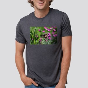 Swallowtail on Pink Dianthus T-Shirt