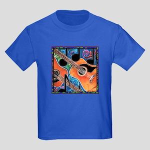 Guitar Kids Dark T-Shirt