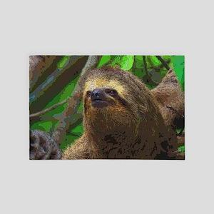 Sloth_20171102_by_JAMColors 4' x 6' Rug