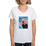 Dave Barry For President Women's V-Neck T-Shirt