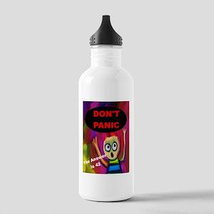 Don't Panic Water Bottle