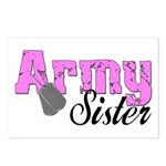 Army Sister Postcards (Package of 8)