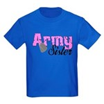 Army Sister Kids Dark T-Shirt