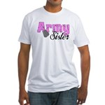 Army Sister Fitted T-Shirt