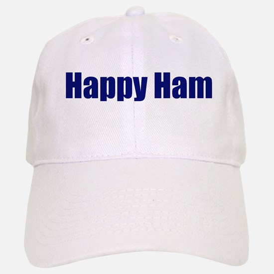 Happy Ham Baseball Baseball Cap