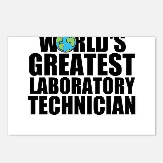 World's Greatest Laboratory Technician Postcar