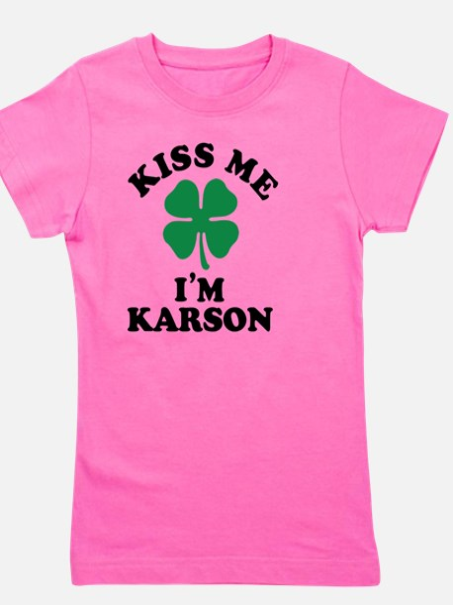 Cute Karson Girl's Tee