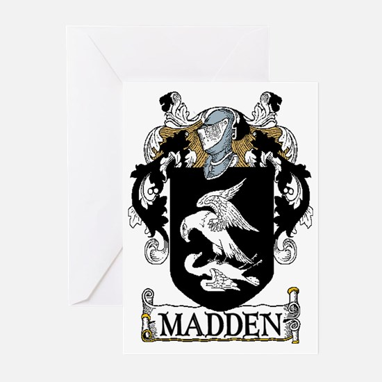 Madden Coat of Arms Greeting Cards (Pk of 20)