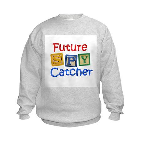 Future Spy Catcher Kids Sweatshirt